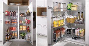 кухонные шкафы системы хранения