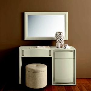 туалетный столик с зеркалом белый