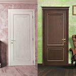 двери мдф классика