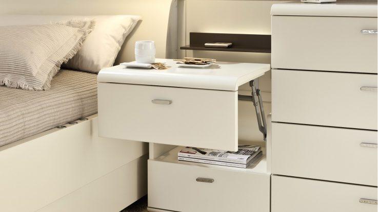 белая спальня, фасады мебели