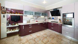 кухня эмаль фиолетовая