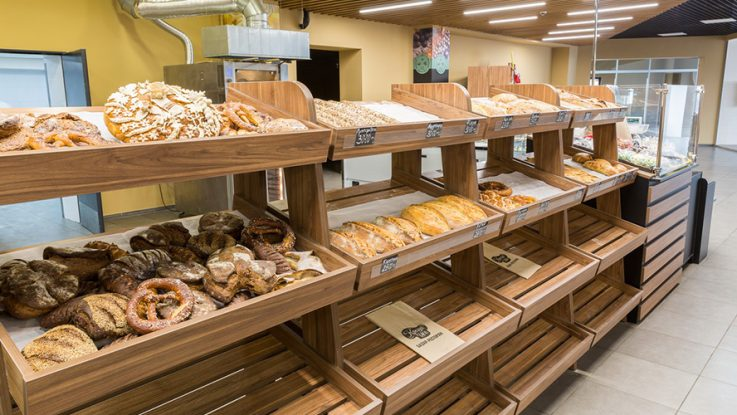 стеллаж горка для хлеба и выпечки