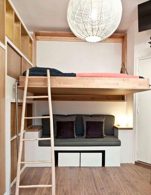 откидная подвесная кровать