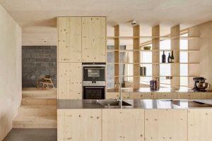 кухня из фанеры
