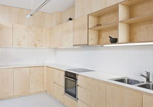 угловая кухня из фанеры