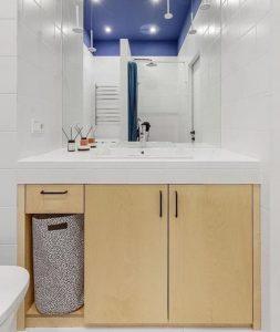тумба под ванную из фанеры