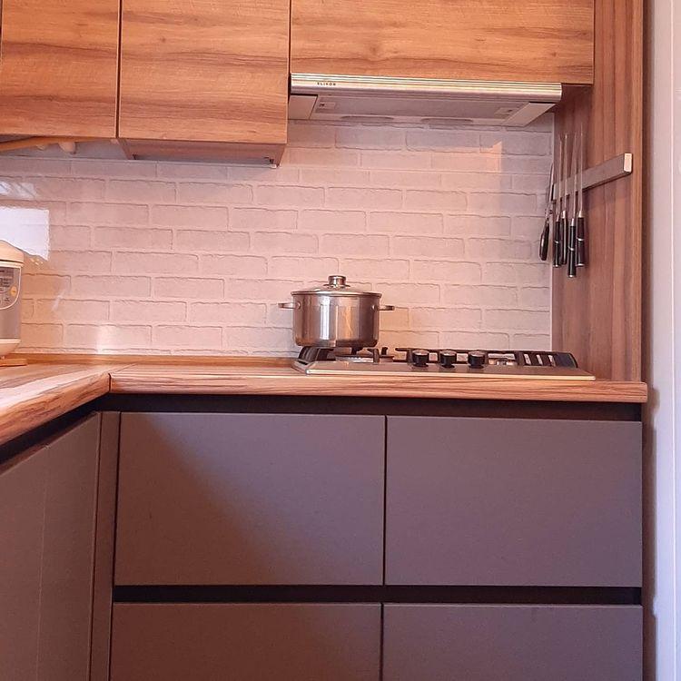 кухня лофт графит фасады